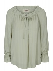 MOSMOSH  Diane stitch blouse, vihreä